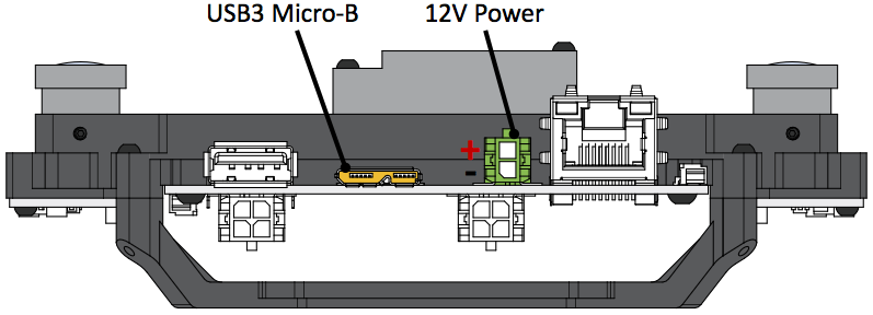 Power Connectors for VI-Sensor
